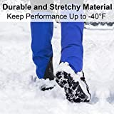 Crampons Ice Cleats Traction Snow Grips for Boots