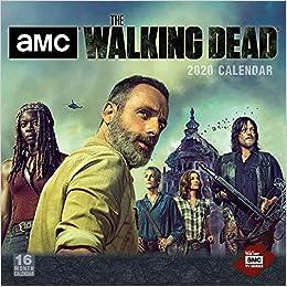 Walking Dead 2020 Calendar The Walking Dead   Amc 2020 Calendar: Sellers Publishing Inc