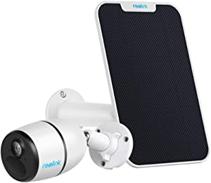 Security Camera Outdoor, 1080P HD 3G/4G LTE Home Security Camera Reolink Go with Solar Panel Bundle