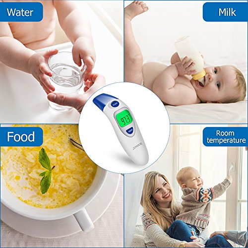 Digital Forehead Thermometer, Zonpor Medical Infrared Baby Thermometer for Fever Kids/Adult with Ear Function Body Basal Thermometers Accurate Reading Medically Proven, FDA and CE Approved by zonpor (Image #5)