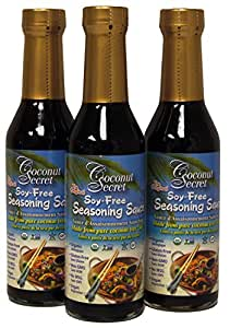 Coconut Secret Raw Coconut Aminos 8 Oz (Pack of 3)