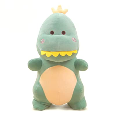 Cute rabbit Dinosaur Plush Toy Stuffed Animal Toy Plush Animal Doll Plush Pillow (Green, 20 inch): Toys & Games