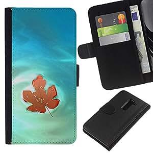 KingStore / Leather Etui en cuir / LG G2 D800 / Naturaleza Hermosa Forrest Verde 46