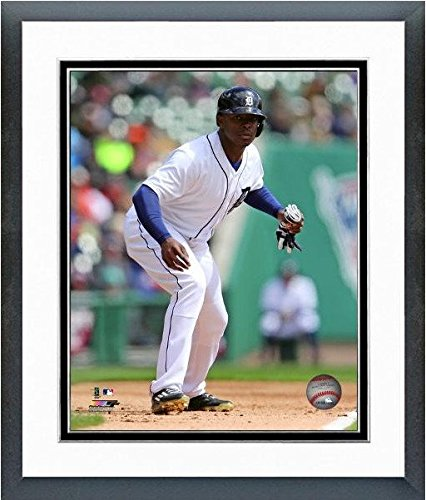 "Justin Upton Detroit Tigers 2016 MLB Action Photo (Size: 12.5"" x 15.5"") Framed"