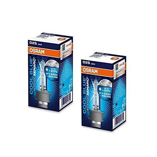 OSRAM D2S CBI Cool Blue Intense Xenon HID Headlight Bulbs 5000K (Two - Cool Bulbs Blue Osram
