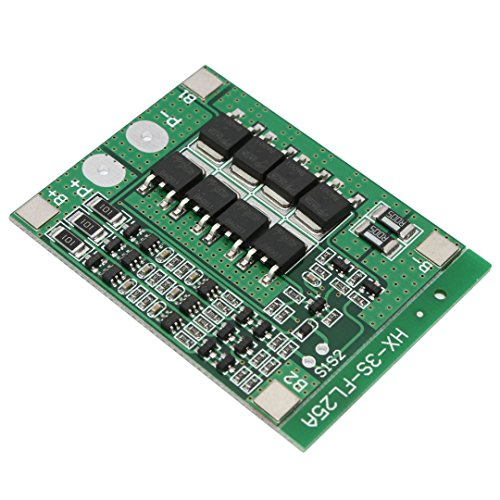 3S 11.1V 25A W/Balance Li-ion Lithium 18650 Battery BMS PCB Protection Board