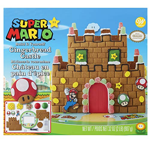 - Wilton Build-it-Yourself Nintendo Gingerbread Castle Decorating