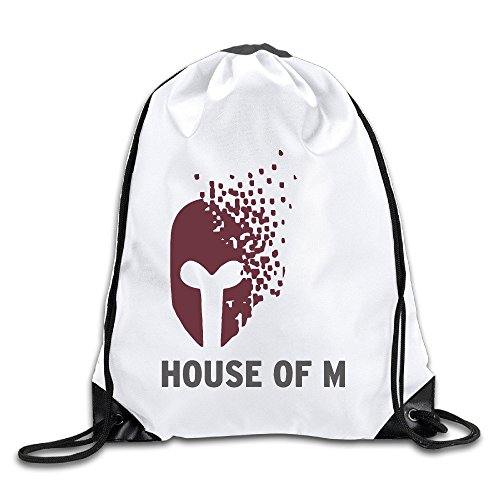 FOODE Gradually Disappear Mask Drawstring Backpack Sack Bag -