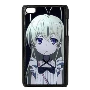 iPod Touch 4 Case Black To Aru Kagaku No Railgun With Nice Appearance Wbqhr