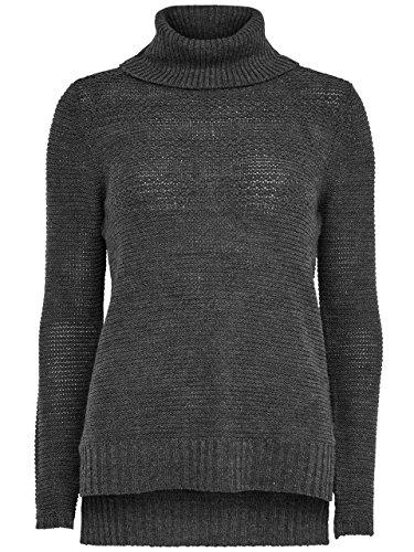 Jersey Only Lena Gris gris (Dark Grey Melange)
