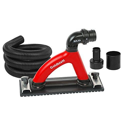 Goldblatt G05028 Dust Free Hand Sander with 6-ft hose For Sale