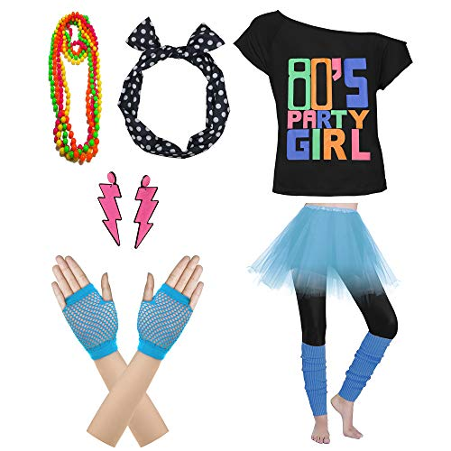 80s Themes - 80's Party Womens Retro Costume Accessories