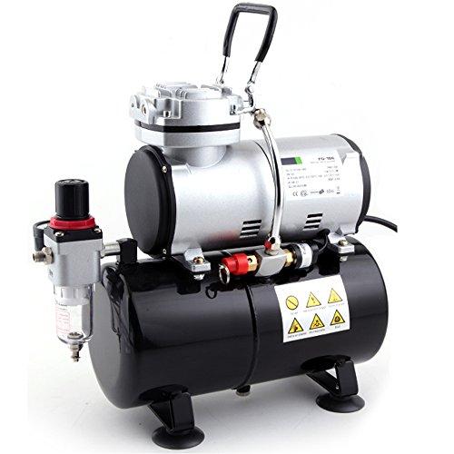 Airbrush mini compressor with 3L air reservoir Fengda AS-186