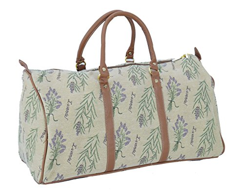 Lavanda Royaltex Tenda Stile Borsone da valigia/borsa da viaggio (Large)