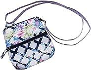 Women's Golf Accessory Bag - Glove It - Ladies Detachable Strap Accessories Bag - 2 Pouch Zipper Bag - Cross B