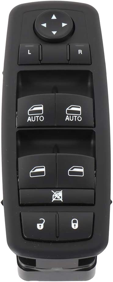 INEEDUP Window Switch Driver Side Power Window Switch Fits for Dodge Ram 2009-10 1500 Truck Quad Cab Front Driver Side 4602863AD
