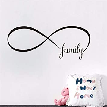 Pbldb 60X24 Cm Amor Familiar Símbolo Infinito Signo Etiqueta De La ...