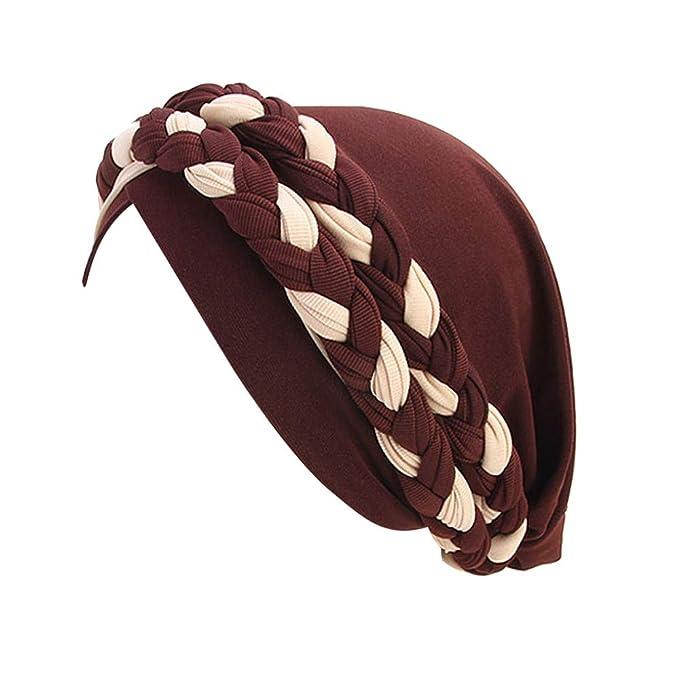 Frauen-Dame Hair Loss Head Scarf Turban Cap Blume Muslim Cancer Chemo Hat Cover