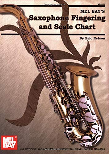 Saxophone Fingering & Scale Chart ()