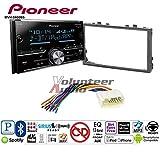 99 honda civic double din kit - Volunteer Audio Pioneer MVH-S600BS Double Din Radio Install Kit with Bluetooth USB/AUX Fits 2006-2011 Honda Civic