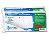 RV Air RV AC Filter | AC 101G Air Filters for RV Air Conditioner | Made in USA RV Filter to Replace Standard RV Air Conditioner Filters for Better Airflow and Cleaner Air | MERV 6 Rated - 2 Packs
