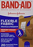 Band-Aid Flexible Fabric Adhesive Bandages, Knuckle and Fingertip, 20 Count