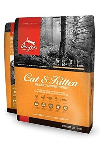 Orijen Cat and Kitten Grain Free Dry Cat Food, 12 oz