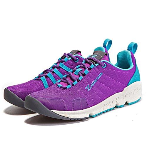 Naisten Ulkoilujalkineiden Kävely Top Matalan Guan Naisten Violetti Lenkkarit Urheilu Käynnissä Sitoa Xiang Hengittävä Urheilullinen apAqURnpx