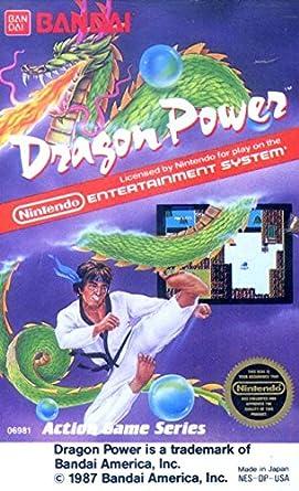 Amazon.com: Dragon Power: Nes Nintendo, Made by Bandai ...