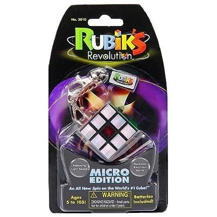 Amazon.com: cubeta de Rubik Revolution Micro Edition Llavero ...