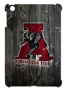 Alabama Crimson Tide Alternate Logo Hard Protective 3D iPad Mini Case by eeMuse