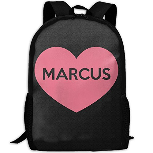 Love Marcus Interest Print Custom Unique Casual Backpack School Bag Travel Daypack - Marcus Sunglasses