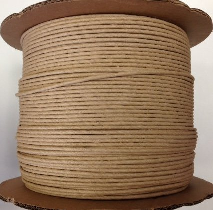 Fiber Rush 5/32 Kraft Brown Large 1700' Spool