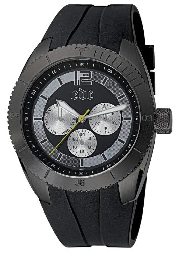 edc by Esprit Men's Watch(Model: Super Sonic-Midnight, Black)