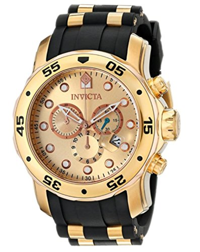 [インビクタ]Invicta Men`s 17884 Pro Diver 18k Gold Ion-Plated Stainless Steel Chronograph WatchBALONET72