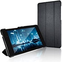 Nexus 7 Case, JETech Slim-Fit Case Cover for Google Nexus 7 2013 Tablet w/Stand and Auto Sleep/Wake Function (Black)