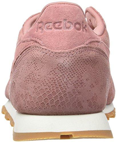 Cl Gum Reebok Sandy Azul Lthr Women's Shoes Clean Grey Exotics Pink Chalk Rose Training fqg5Uq