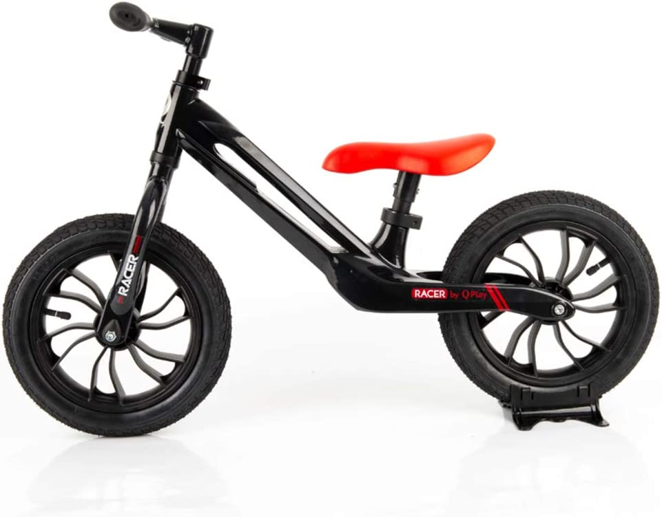 QPLAY - Bicicleta sin Pedales Tech Balance Bike Racer Negra ...
