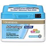 GoodSense Advantage Non-GMO Milk-Based Powder Infant Formula with Iron, 23.2 Ounce