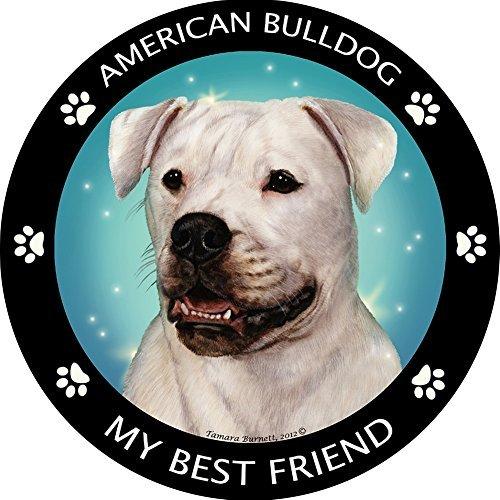 American Bulldog Best Friend Car, Refrigerator Magnet
