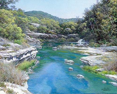 (Larry Dyke - Emerald Stream Signed Open Edition on Paper)