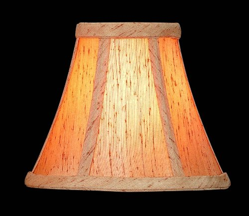 UPC 088675650577, Lite Source CH553-6 6-Inch Lamp Shade, Honey Beige