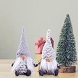 per Newly Multi Types Mini Dolls Soft Plush Toys Swedish Tomte Christmas Gnome Window Decoration Cute Unique Cute Dolls Ornament Innovative Gifts for Birthday Christmas