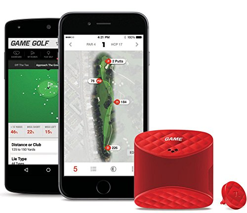 GAME GOLF LIVE Digital Shot Tracking System (New Version) Bundle with PlayBetter Portable Smartphone Charger by Game Golf (Image #3)