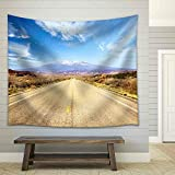 wall26 - Road Through American Southwest, Utah, United States - Fabric Wall Tapestry Home Decor - 51x60 inches