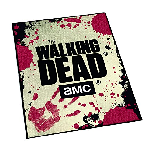 - Close Up The Walking Dead AMC Carpet with Rubber Back Side (80x120cm) for The Living Room, Bedroom or Office