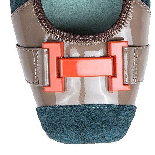 De Morena Para Beige Mujer Zapatillas Cuero 6wRfq