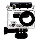SODIAL(R) Waterproof Dive Housing Case Skeleton With Lens For Gopro Hero 2 Camera