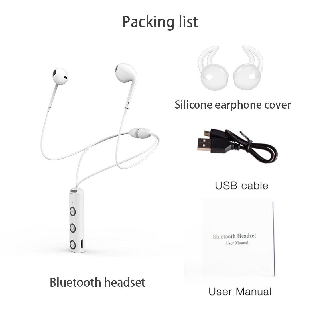 Bluetooth Headphones Wireless Sports Earphones 41 Earbuds Headset Earbud Mini Hd Stereo Sweatproof With Mic