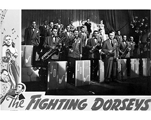 Globe Photos ArtPrints The Dorsey Brothers On Stage With An Orchestra - 10